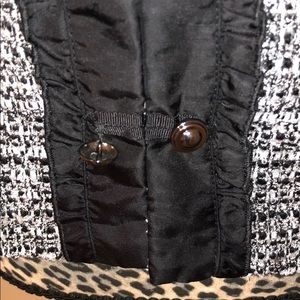 White House Black Market Jackets & Coats - White House Black Market Black & White Blazer